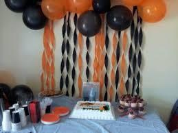 black and orange grad party hosting party ideas pinterest