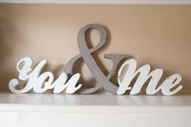 wood words you and me wood word sign you me home decor