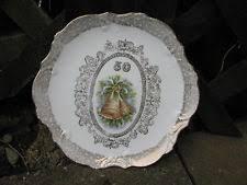 50th wedding anniversary plates 50th anniversary plate ebay