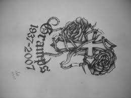 cross and rose tattoo by kawaii koneko on deviantart