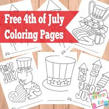 4th of july coloring pages itsy bitsy fun
