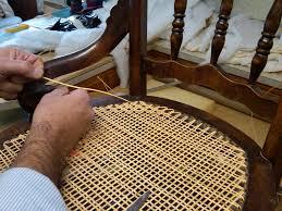 Broken Rocking Chair Recaning Restore Vintage Broken Hand Cane Chair Woven Headboard