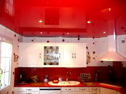 pvc cuisine stretch ceiling pictures in kitchen stretch ceilings
