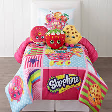 Jcpenney Twin Comforters Shopkins Twin Full Comforter U0026 Accessories Jcpenney