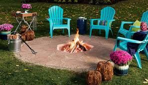 Patio Table With Built In Fire Pit - how to build an in ground fire pit