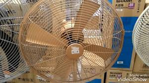 holmes metal stand fan houm stand fan m16 gold at electric shop all speed youtube