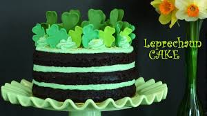 how to make a leprechaun cake for st s day