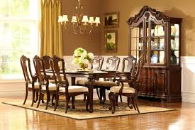 Legacy Classic Dining Room Set Bedroom Engaging Rich Brown Finish Classic Dining Room Table