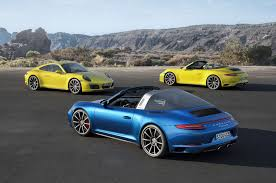 Porsche 911 Convertible - 2017 porsche 911 carrera 4 4s models get new turbo engine motor