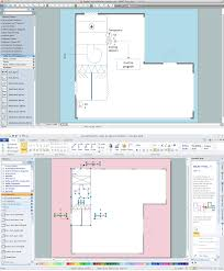 h house plans office floor plan software building plan software edraw