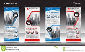 Stand Up Flag Banners Roll Up Banner Stand Template Design X Banner J Flag Stock