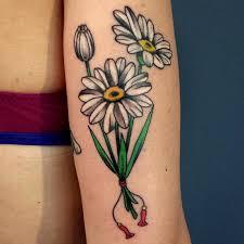 85 best daisy flower tattoo designs u0026 meaning 2018