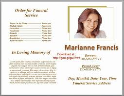 funeral program designs 79 best funeral program templates for ms word to images