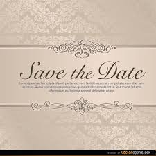 Save The Date Wedding Invitations Wedding Save The Date Vector Freevectors Net