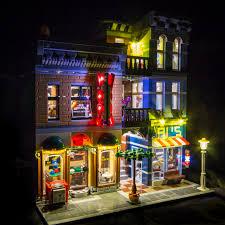 Lego Office Light My Bricks Detective U0027s Office Led Lighting Kit