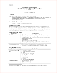 Orthodontist Job Responsibilities Of A Dentist Sap Bi Sample Resume Sample Resume