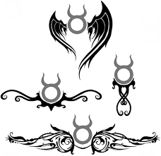 zodiac sign tattoos taurus tattoos book 65 000 tattoos designs