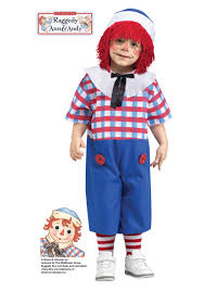 Raggedy Ann Halloween Costume Baby Raggedy Andy Toddler Costume