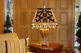 handmade custom made black and gold french lamp shade by petunia