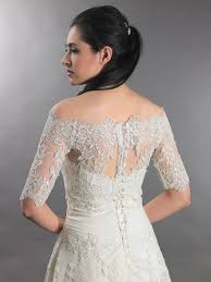 wedding dress jacket shoulder wedding jacket lace bolero wj010