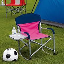 Folding Directors Chair With Side Table Kid U0027s Director U0027s Chair Assorted Colors Sam U0027s Club