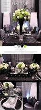 Black And Silver Centerpieces by Wedding Decor By Dar U0027s Decorating With Grey And Silver Damasks