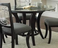 Dining Tables Large Furniture Elegant Black Round Dining Table Large Round Black