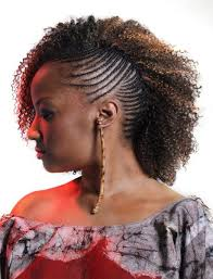 plaited hair styleson black hair hair styles on pinterest natural hair braided mohawk hairstyles