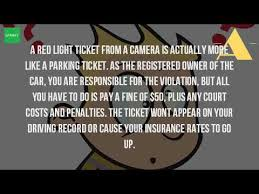 how much is a red light ticket in los angeles how much is a ticket for running a red light youtube