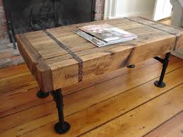 wood and pipe table amazing of rustic coffee and end tables reclaimed wood amp pipe