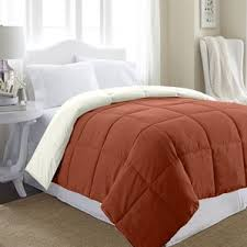 Colored Down Alternative Comforter Down Comforters U0026 Duvet Inserts