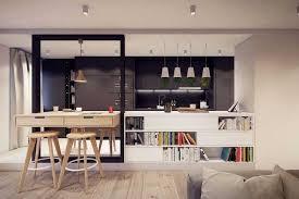 cuisine mur noir comment intégrer la couleur noir dans votre déco intérieure