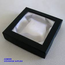 bangle bracelet box images 24x bangle bracelet gift box with window 9x9cm black jpg