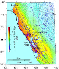 San Francisco Peninsula Map by Ground Motion Modeling Of The 1906 San Francisco Earthquake Part