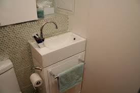 small powder room sinks tiny laundry powder room contemporary laundry room montreal