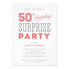 birthday invites mesmerizing surprise 50th birthday invitations