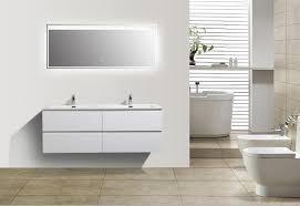 bathroom furniture set alice 1380 matte white optional mirror