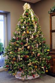inspiration tree bows decorations opulent trees