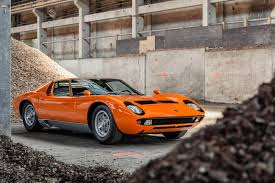 the gear shift gallery orange lamborghini miura s photoshoot