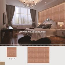 3d Bedroom Wall Panels Latest Building Materials Fashion Bedroom Background Decorative