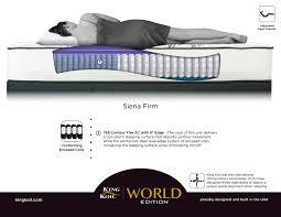 siena firm mattress bedrooms first