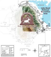 Lake Alan Henry Map Trailheads In Lake Mead Nra River Mountains Loop Trail