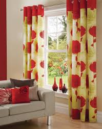 kitchen curtain ideas yellow fabric red and yellow kitchen curtains dzqxh com