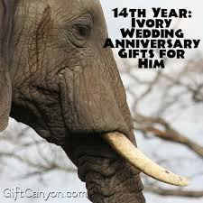 wedding anniversary gifts for him 14th year ivory wedding anniversary gifts for him gift