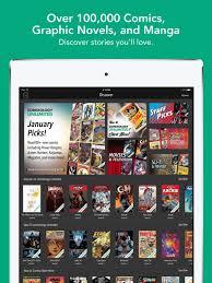 comixology comics u0026 manga app store