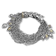 gold multi chain bracelet images John hardy naga dragon gold and silver dangling bracelet jpg