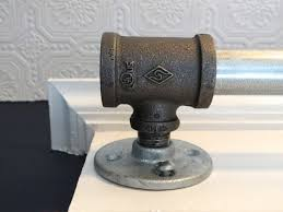 diy how to make a curtain rod from an industrial pipe