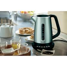 kettle cordless with manual temperature settings philips