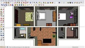 sketchup for floor plans clever ideas 3d house plans sketchup 8 free floor plan