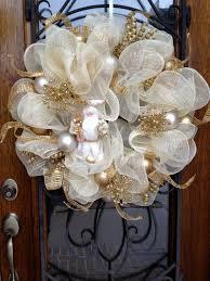 white deco mesh sale all wreaths 25 thru fri sept 12 this gold
